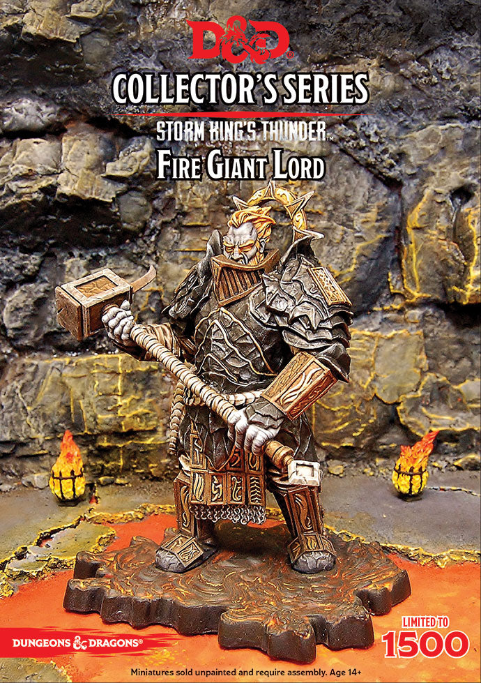 D&D Collectors Series Storm Kings Thunder Fire Giant Lord (Limited Edition) | Lvl Up Gaming UK