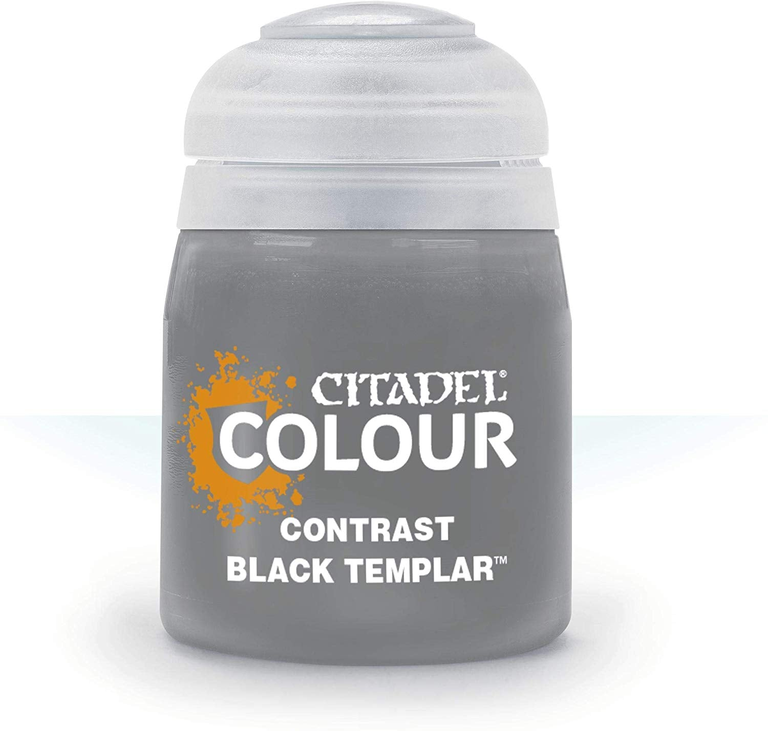 Black Templar Contrast Paint 18ml | Lvl Up Gaming UK