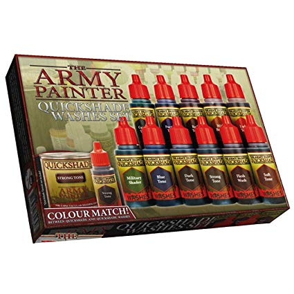 The Army Painter Quickshade Washes Set | Lvl Up Gaming UK