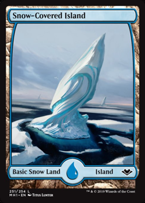 Snow-Covered Island [Modern Horizons] | Lvl Up Gaming UK