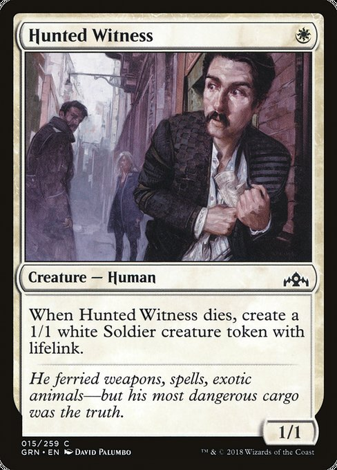 Hunted Witness [Guilds of Ravnica] | Lvl Up Gaming UK