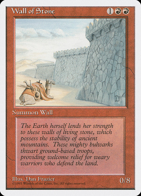 Wall of Stone [Fourth Edition] | Lvl Up Gaming UK