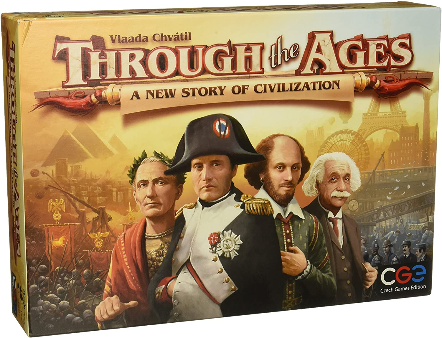 Through the Ages: A New Story of Civilization Boardgame | Lvl Up Gaming UK