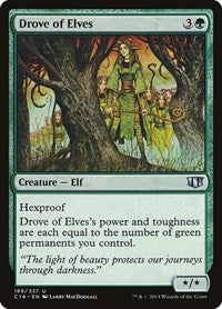 Drove of Elves [Commander 2014] | Lvl Up Gaming UK