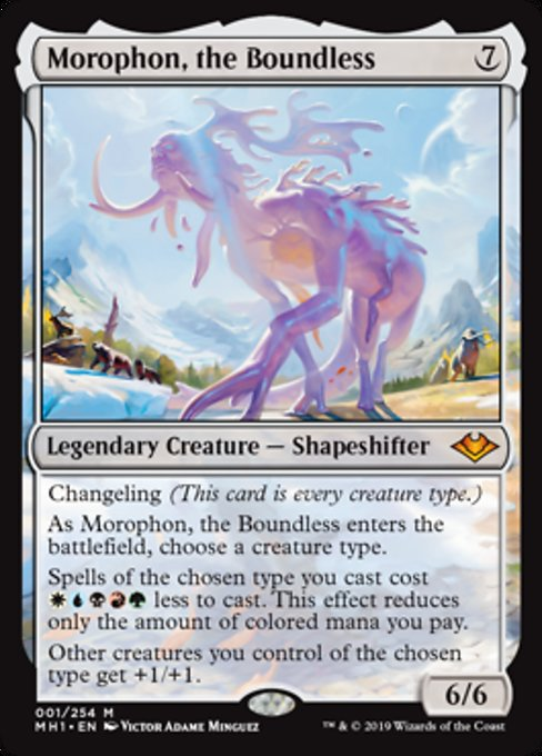 Morophon, the Boundless [Modern Horizons] | Lvl Up Gaming UK