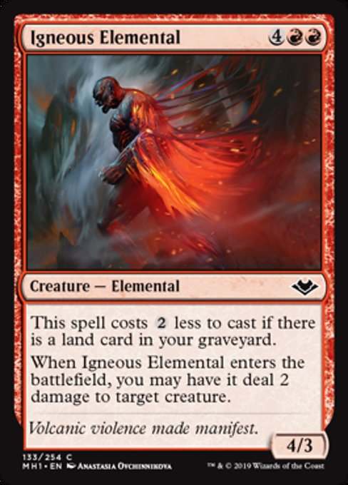 Igneous Elemental [Modern Horizons] | Lvl Up Gaming UK