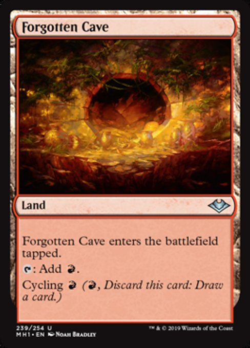 Forgotten Cave [Modern Horizons] | Lvl Up Gaming UK