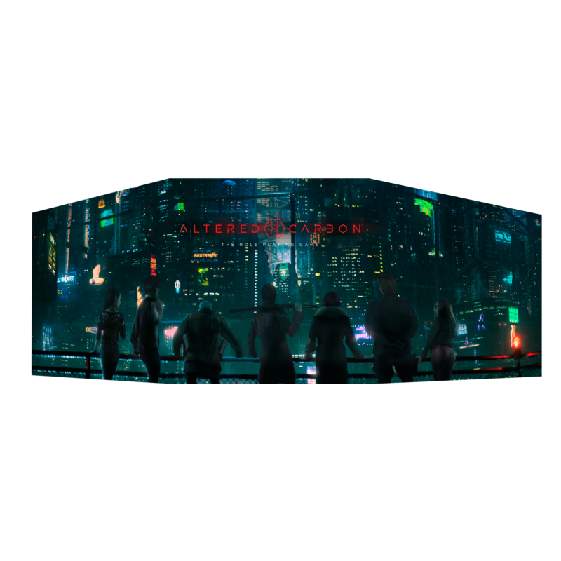Altered Carbon RPG DM Screen | Lvl Up Gaming UK