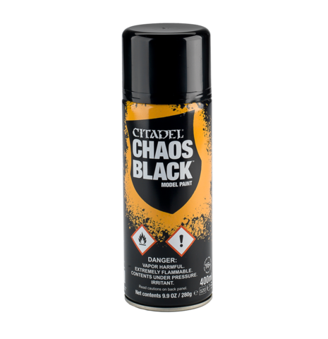 CHAOS BLACK SPRAY | Lvl Up Gaming UK