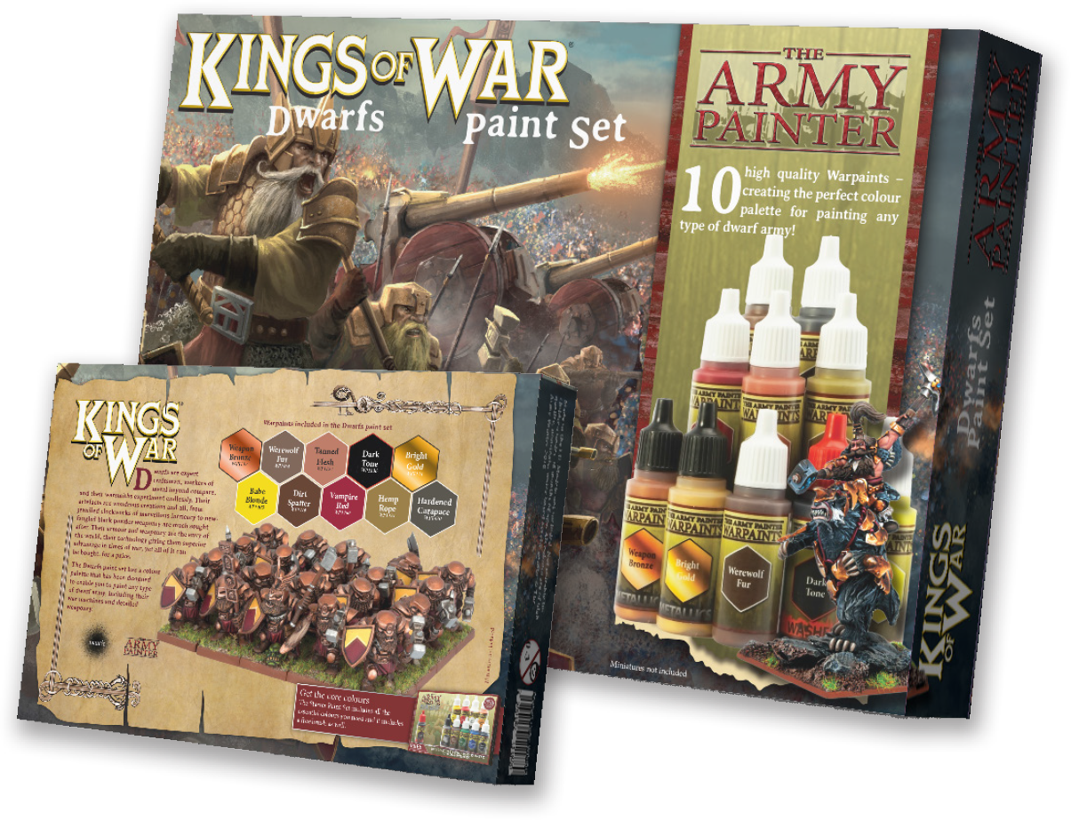 Army Painter Dwarfs Paint Set | Lvl Up Gaming UK