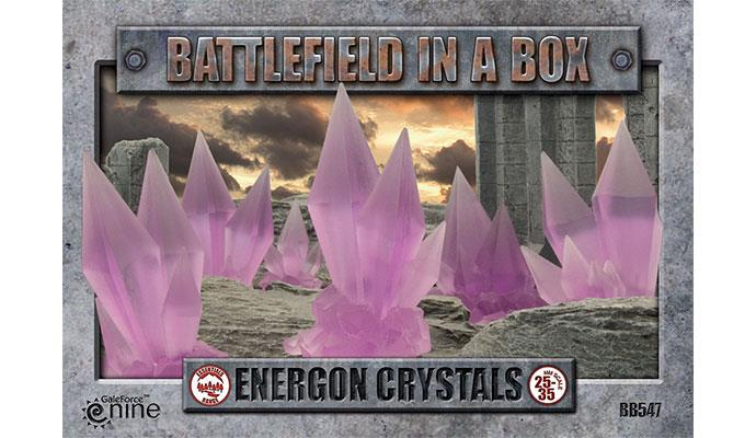 Battlefield In a Box - Energon Crystals - Purple - (x6) - 30mm | Lvl Up Gaming UK