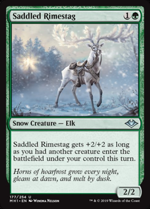 Saddled Rimestag [Modern Horizons] | Lvl Up Gaming UK