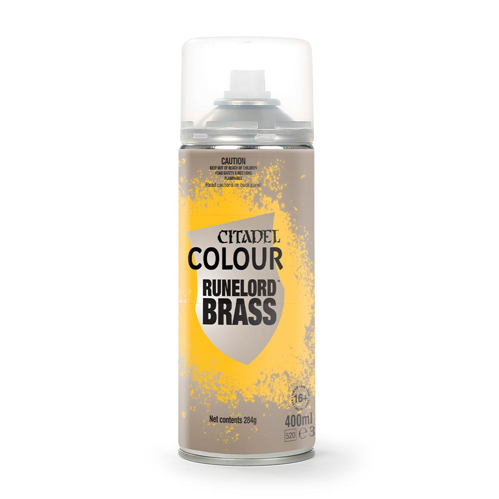 RUNELORD BRASS SPRAY PAINT | Lvl Up Gaming UK