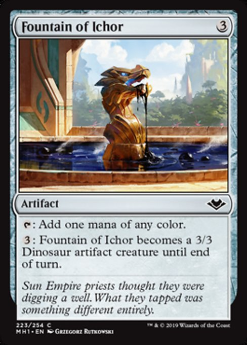 Fountain of Ichor [Modern Horizons] | Lvl Up Gaming UK