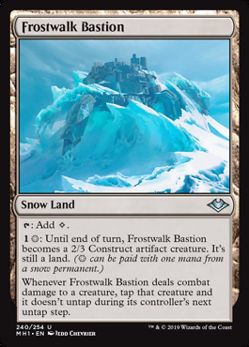 Frostwalk Bastion [Modern Horizons] | Lvl Up Gaming UK