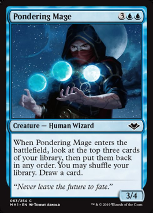 Pondering Mage [Modern Horizons] | Lvl Up Gaming UK