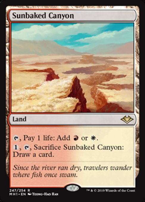 Sunbaked Canyon [Modern Horizons] | Lvl Up Gaming UK