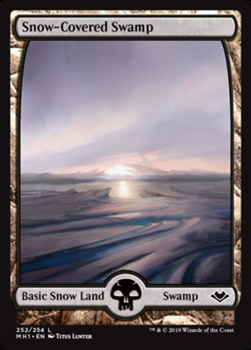 Snow-Covered Swamp [Modern Horizons] | Lvl Up Gaming UK