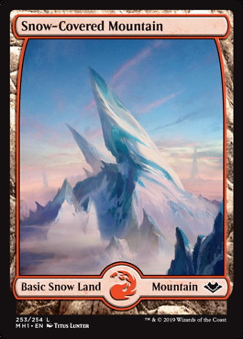 Snow-Covered Mountain [Modern Horizons] | Lvl Up Gaming UK