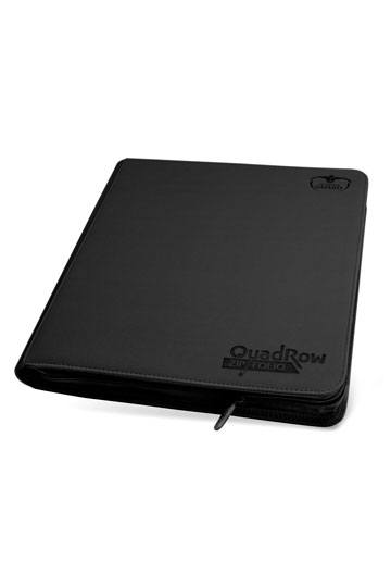 Ultimate Guard 12-Pocket QuadRow ZipFolio XenoSkin Black | Lvl Up Gaming UK
