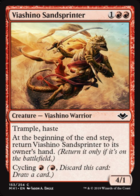 Viashino Sandsprinter [Modern Horizons] | Lvl Up Gaming UK