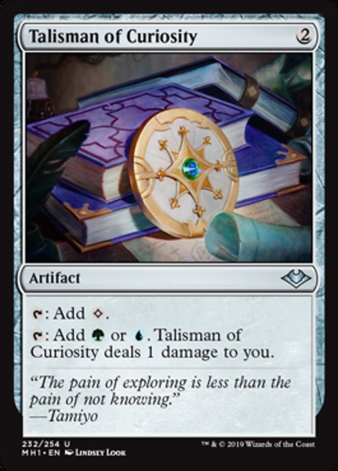 Talisman of Curiosity [Modern Horizons] | Lvl Up Gaming UK