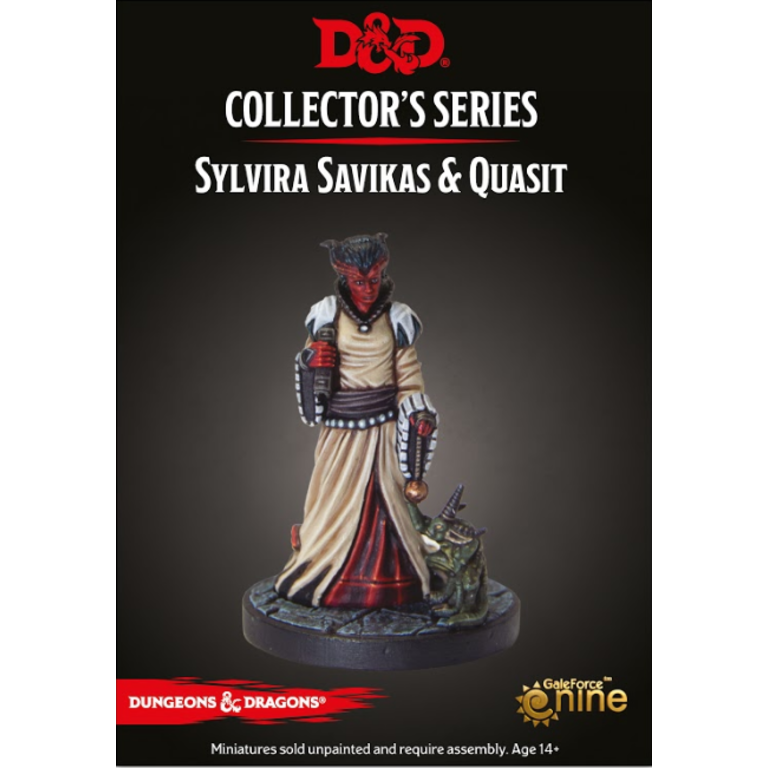 D&D Collector's Series Sylvira Savikas & Quasit | Lvl Up Gaming UK