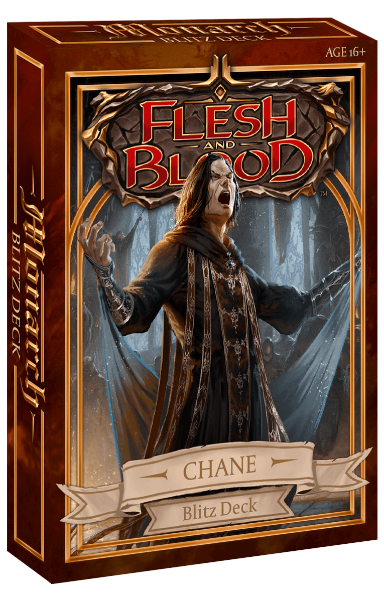 Flesh and Blood TCG: Monarch Blitz Deck Chane (Pre-Order) | Lvl Up Gaming UK