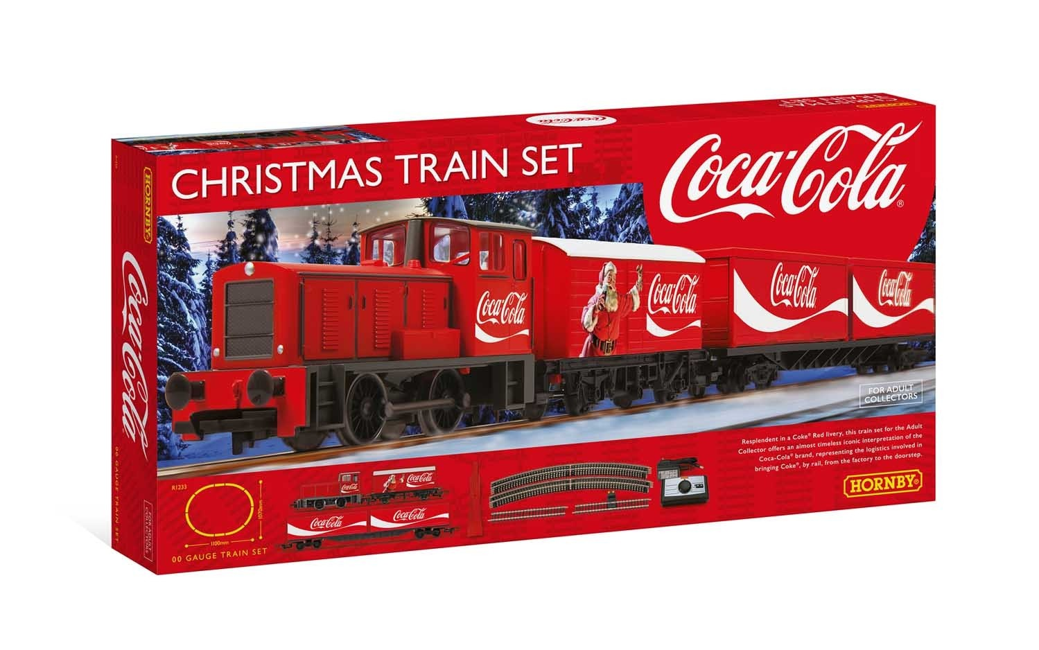 Hornby Coca Cola Christmas Train Set | Lvl Up Gaming UK