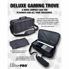 Ultra Pro Deluxe Gaming Trove with Black Trim | Lvl Up Gaming UK