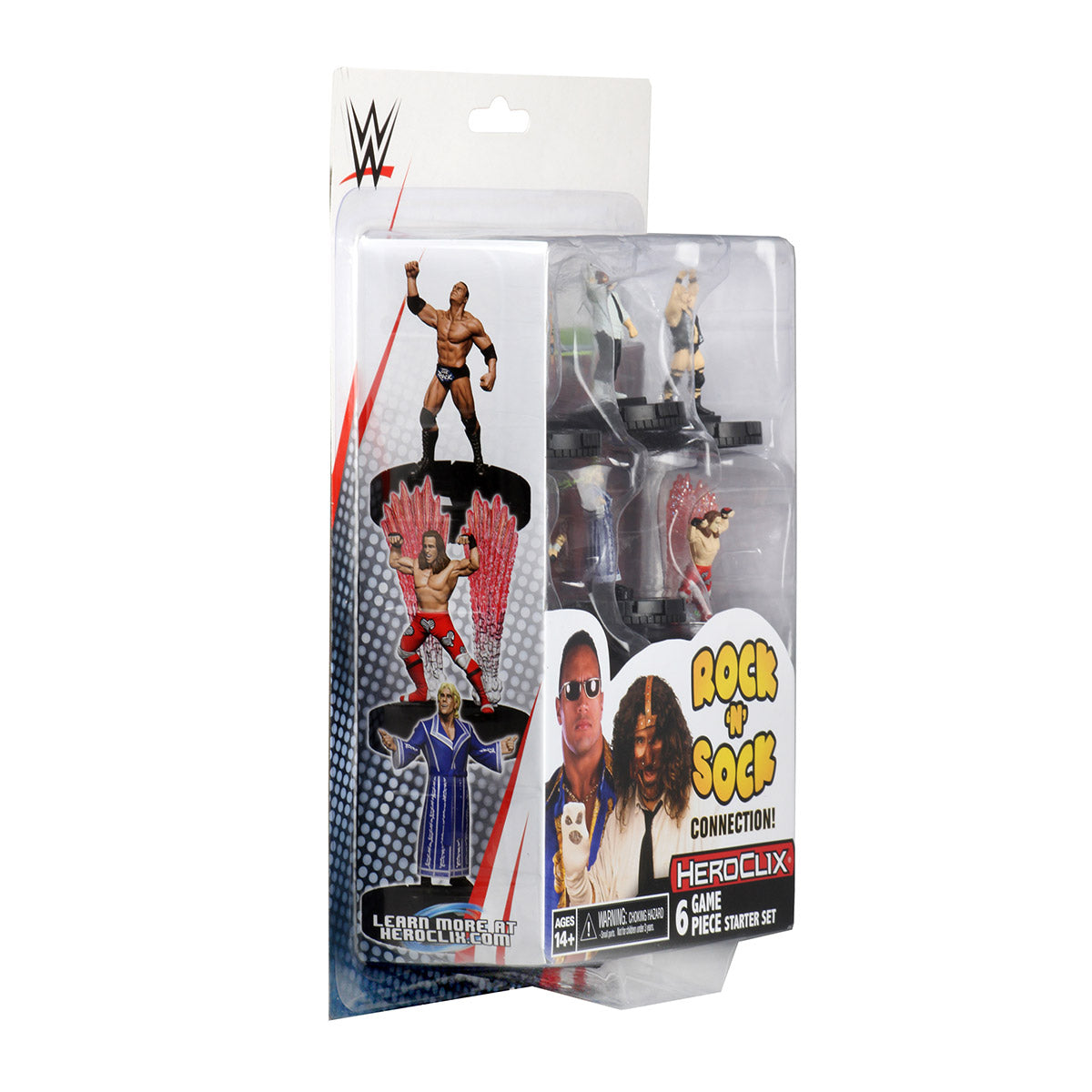 WWE HeroClix The Rock 'n' Sock Connection 2-Player Starter Set | Lvl Up Gaming UK