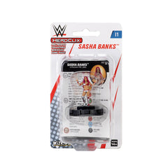 WWE HeroClix Sasha Banks Expansion Pack Series 1 | Lvl Up Gaming UK