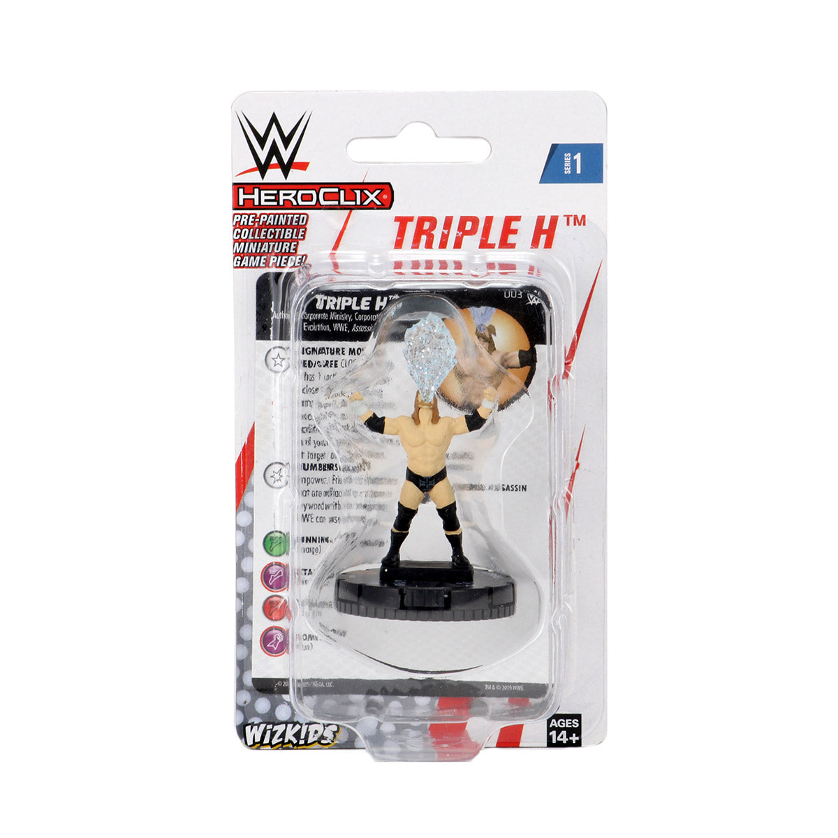 WWE HeroClix Triple H Expansion Pack Series 1 | Lvl Up Gaming UK