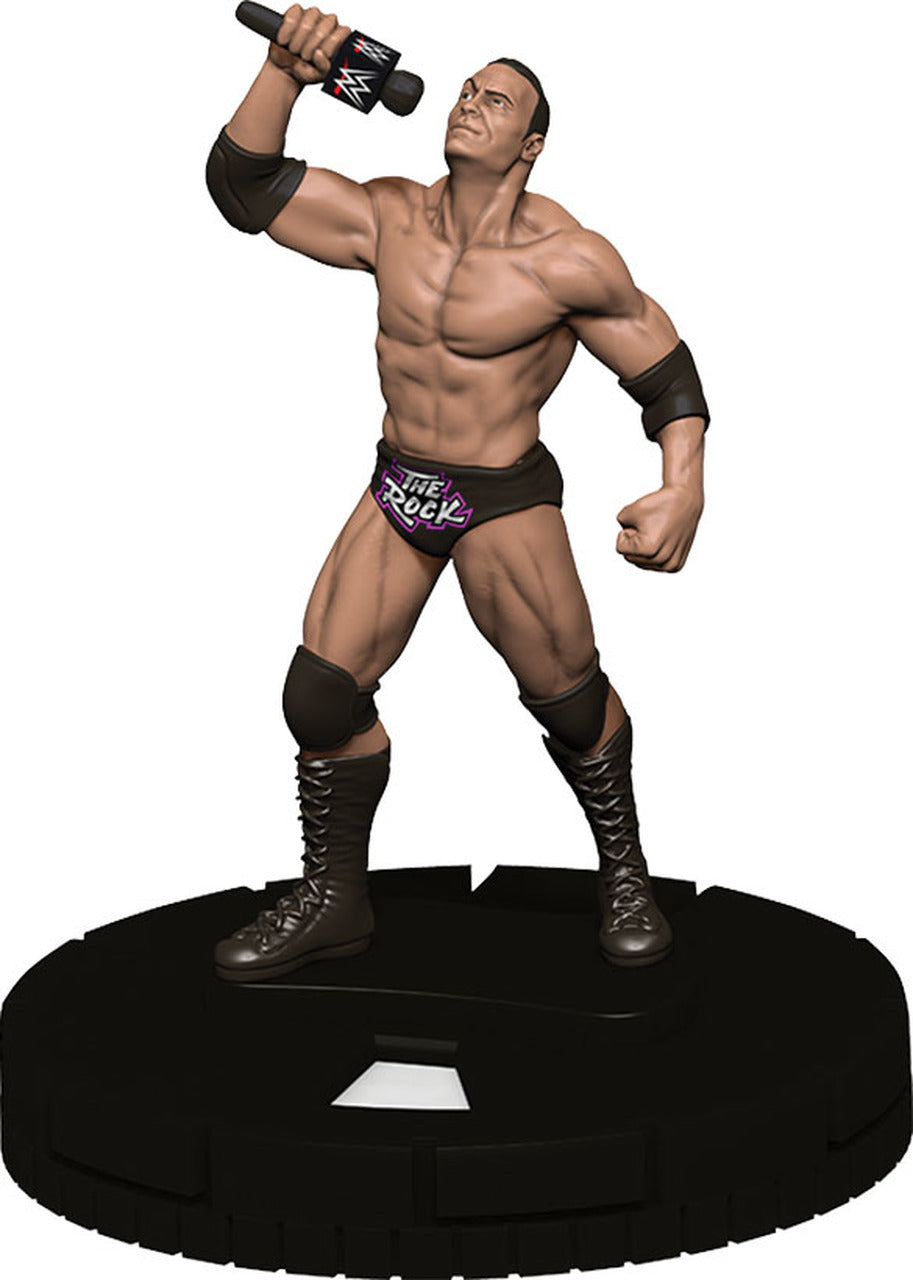 WWE HeroClix The Rock Expansion Pack Series 1 | Lvl Up Gaming UK