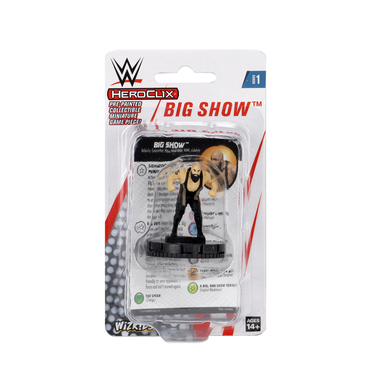 WWE HeroClix Big Show Expansion Pack Series 1 | Lvl Up Gaming UK