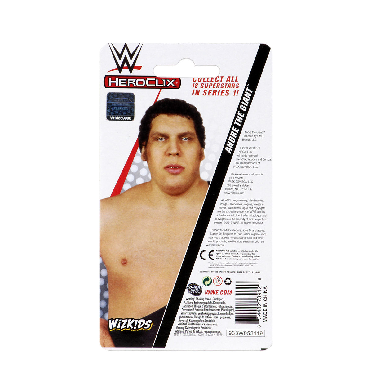 WWE HeroClix Andre the Giant Expansion Pack Series 1 Pre-Order | Lvl Up Gaming UK