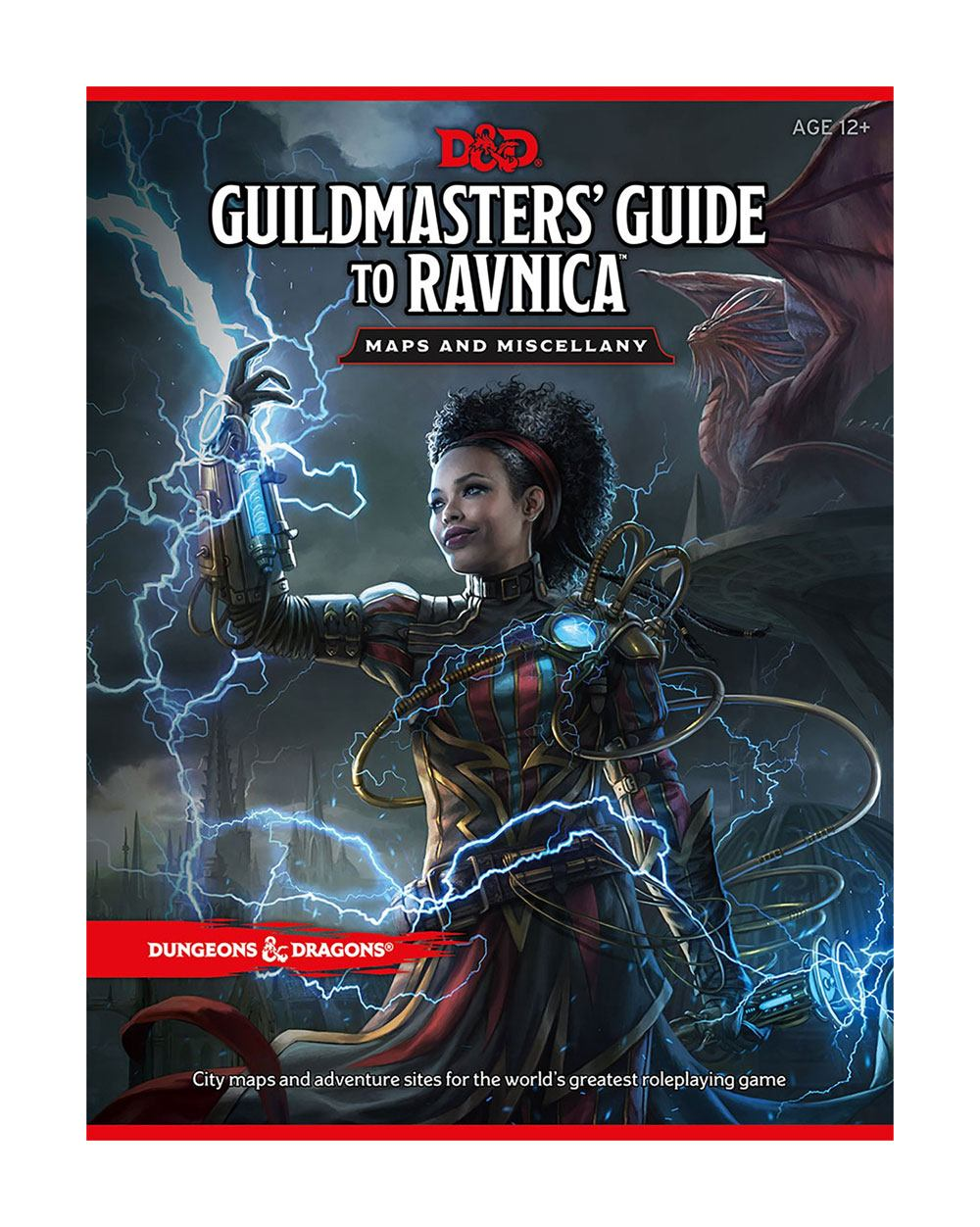 Dungeons & Dragons RPG Guildmasters' Guide to Ravnica Maps and Miscellany English | Lvl Up Gaming UK