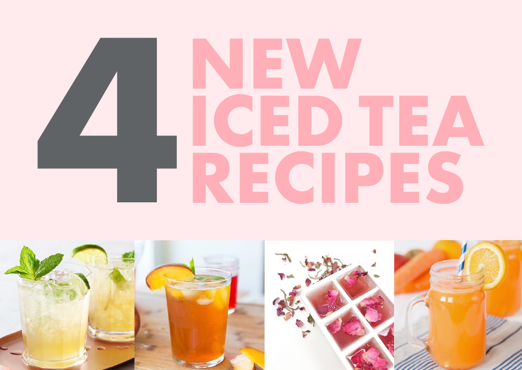 4 New Flat Tummy Iced Tea Recipes