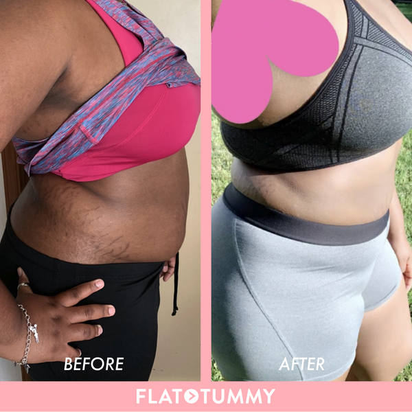 flat tummy tea results picture
