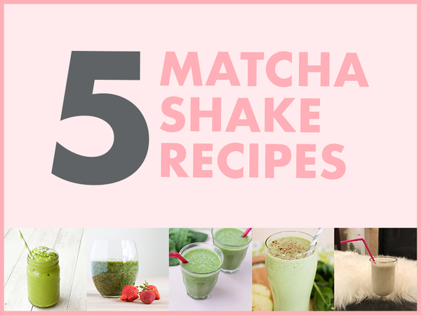 Matcha Shake Recipes