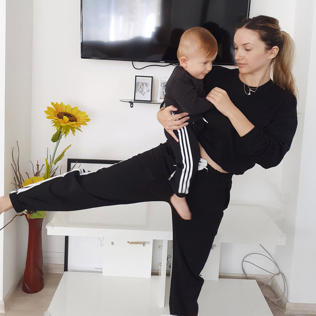 Mommy and baby workout
