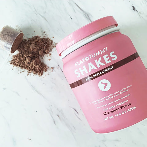 Flat Tummy shakes-tub-powder
