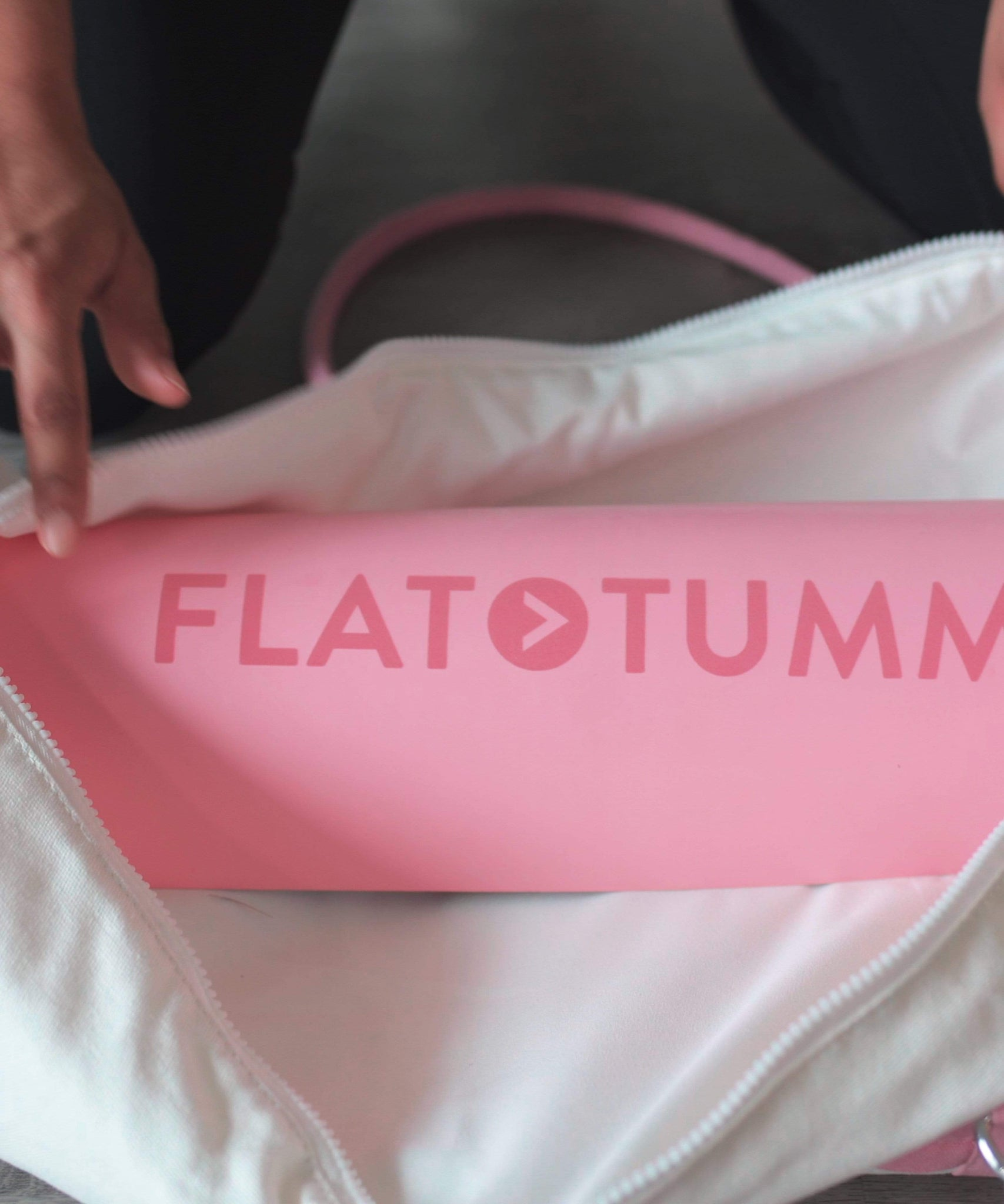 Flat Tummy Co Bundle Fitness Mat + Travel Bag