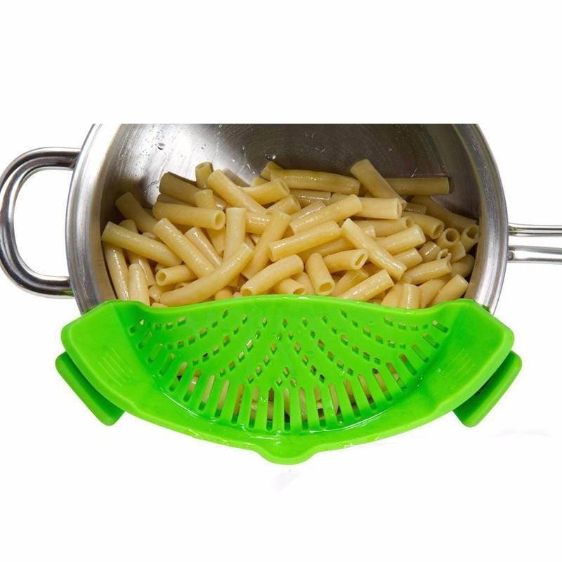 Click On Silicone Colander