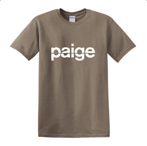 PAIGE TEE - coffee