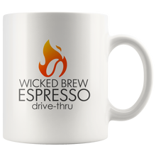 Load image into Gallery viewer, Wicked Brew Logo 11oz Mug
