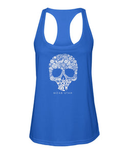 Women's Wicked Brew Skully Racerback Sport Tank