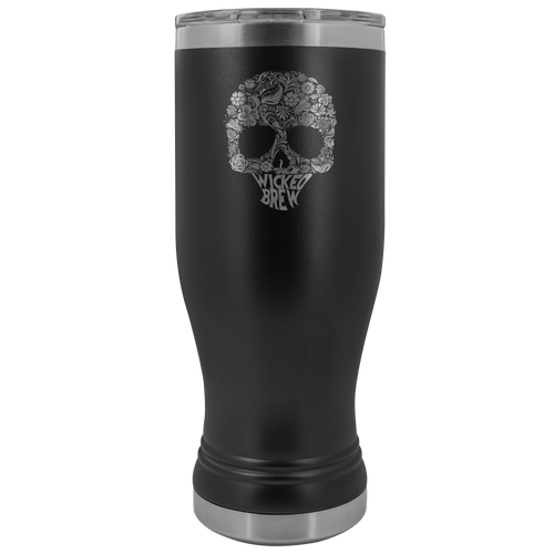 Wicked Brew Skully Boho 20oz Tumbler
