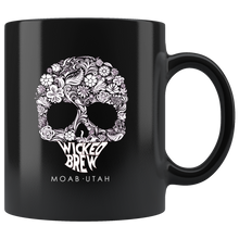 Load image into Gallery viewer, Wicked Brew Skully 11oz Mug