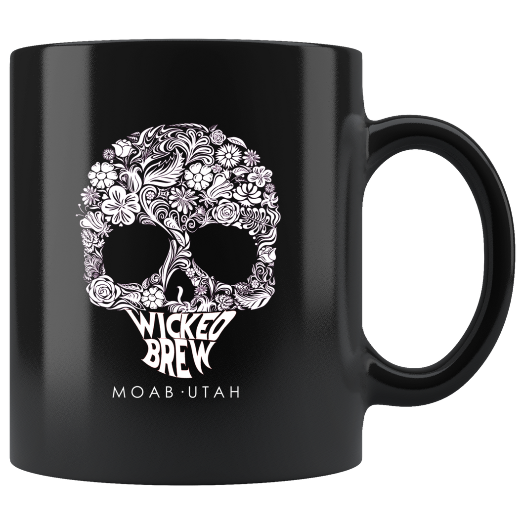 Wicked Brew Skully 11oz Mug